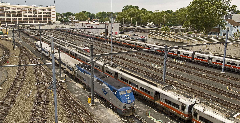 New Haven Rail Yard Complex Stv