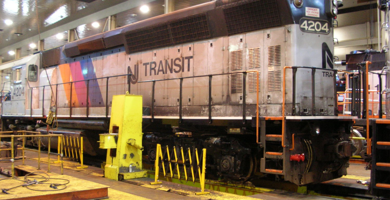 Nj Vehicle Inspection >> NJ TRANSIT Meadows Maintenance Complex | STV