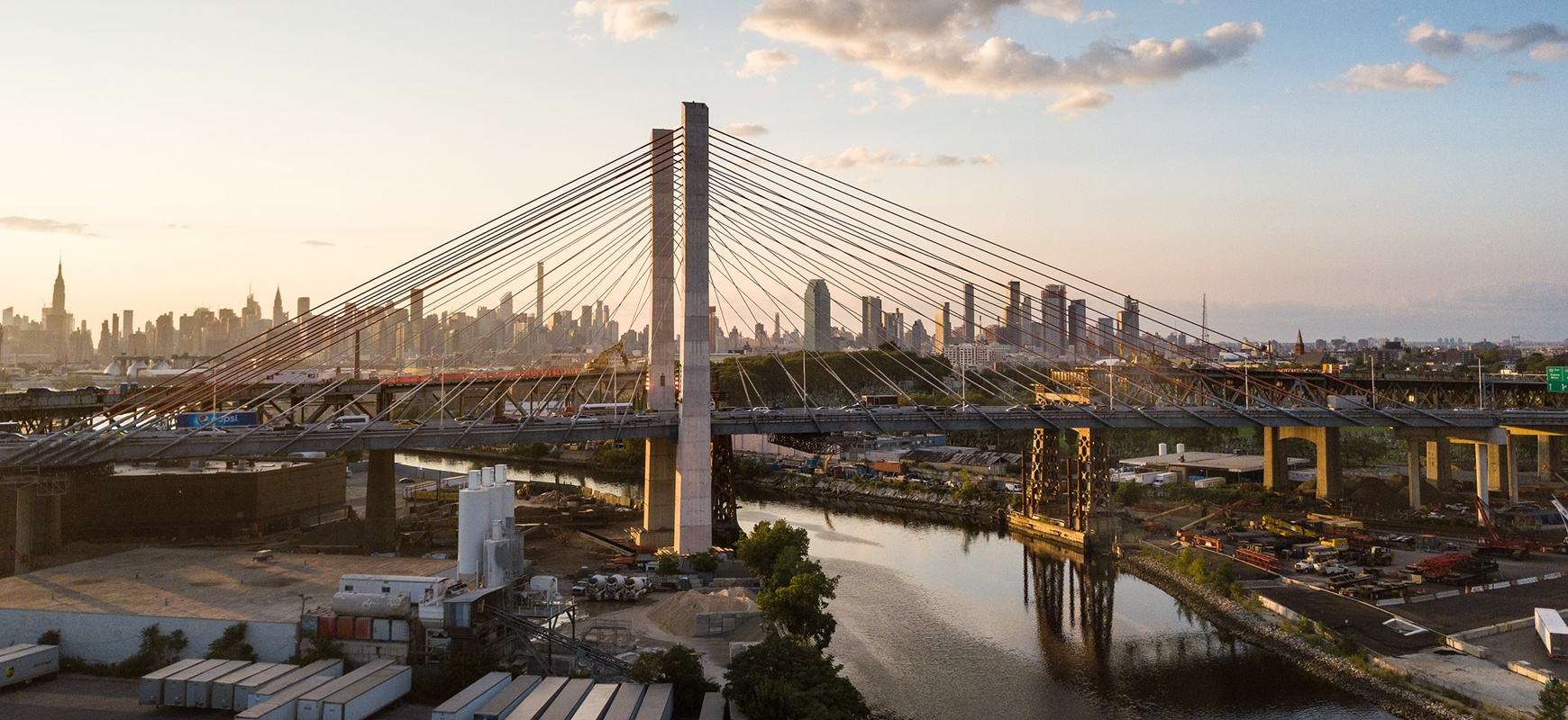 The Kosciuszko Bridge