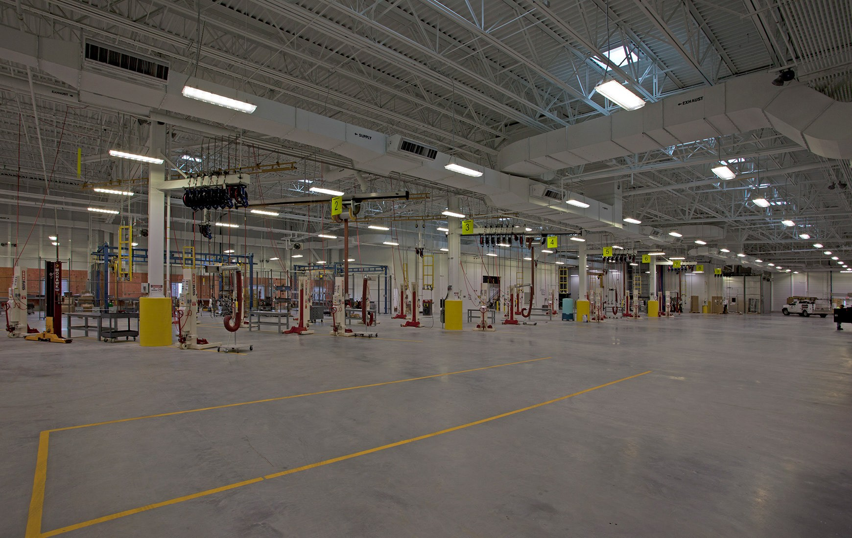 Worcester Bus Facility Interior